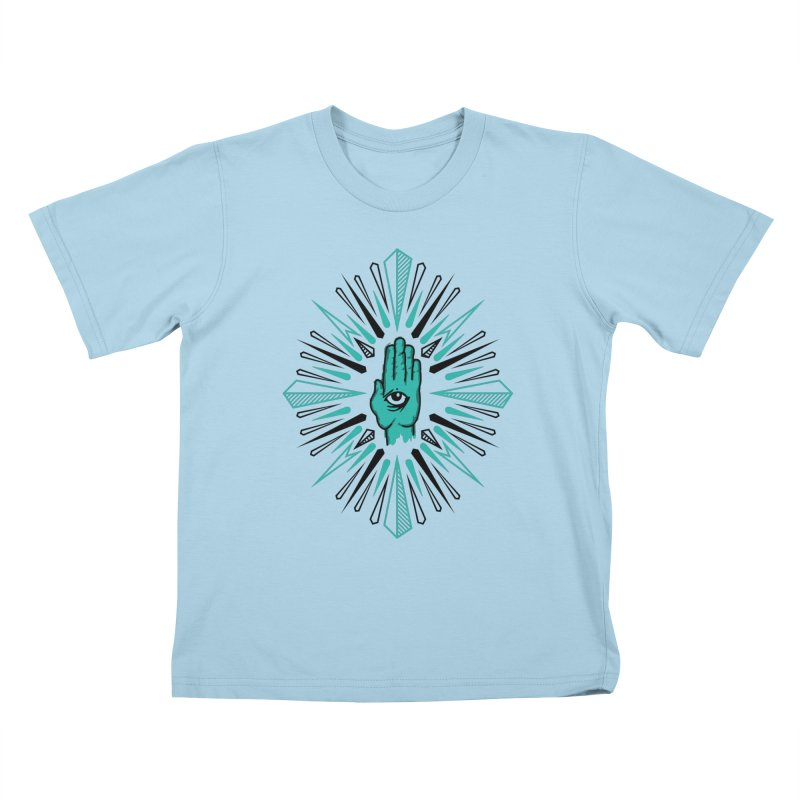 Hand-eye Coordination Kids T-Shirt by Stephen Harris Designs