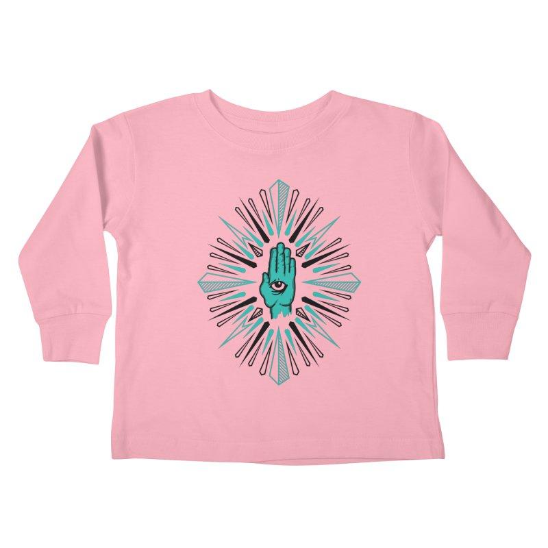 Hand-eye Coordination Kids Toddler Longsleeve T-Shirt by Stephen Harris Designs