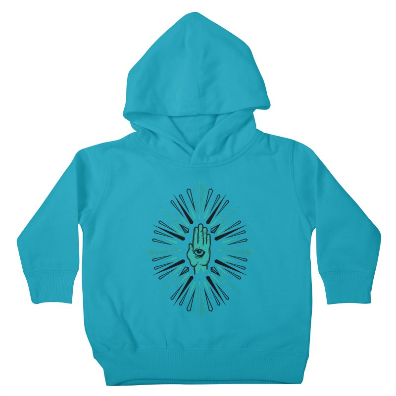 Hand-eye Coordination Kids Toddler Pullover Hoody by Stephen Harris Designs