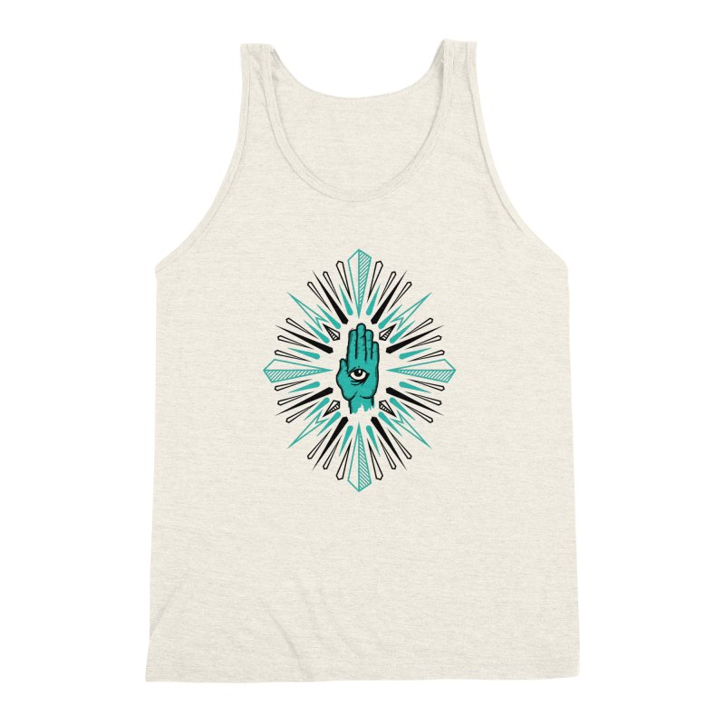 Hand-eye Coordination Men's Triblend Tank by Stephen Harris Designs