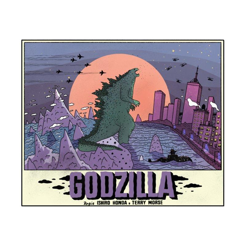 Godzilla Women's T-Shirt by Steven Compton's Artist Shop