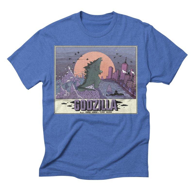 Godzilla Men's T-Shirt by Steven Compton's Artist Shop