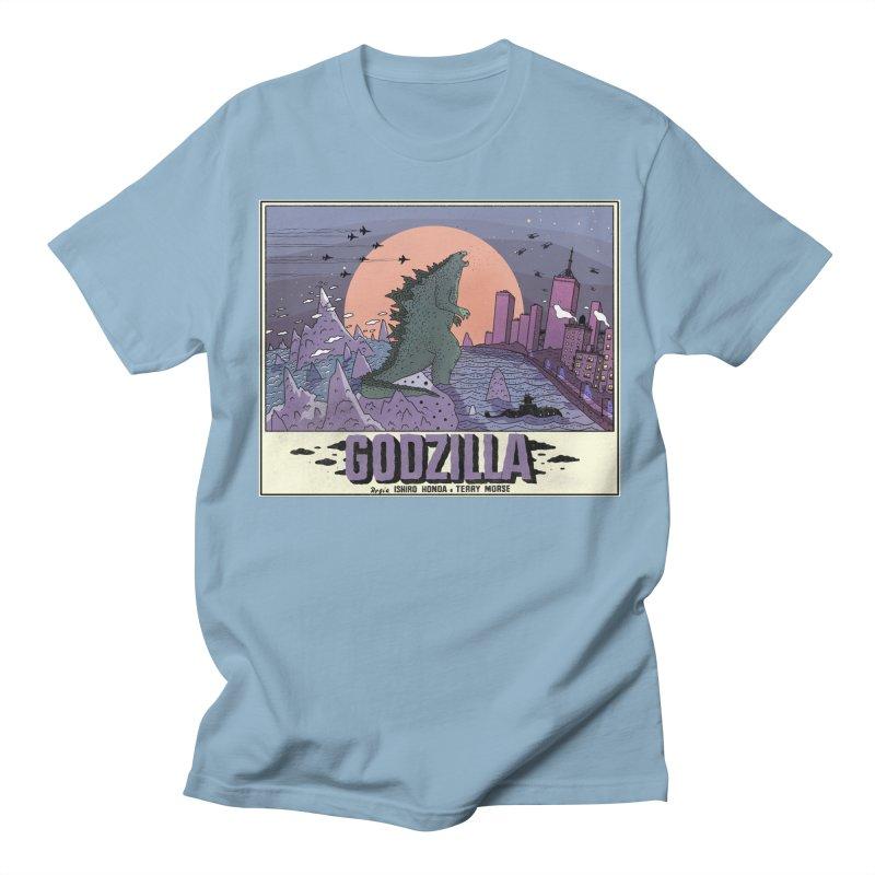 Godzilla Women's Regular Unisex T-Shirt by Steven Compton's Artist Shop