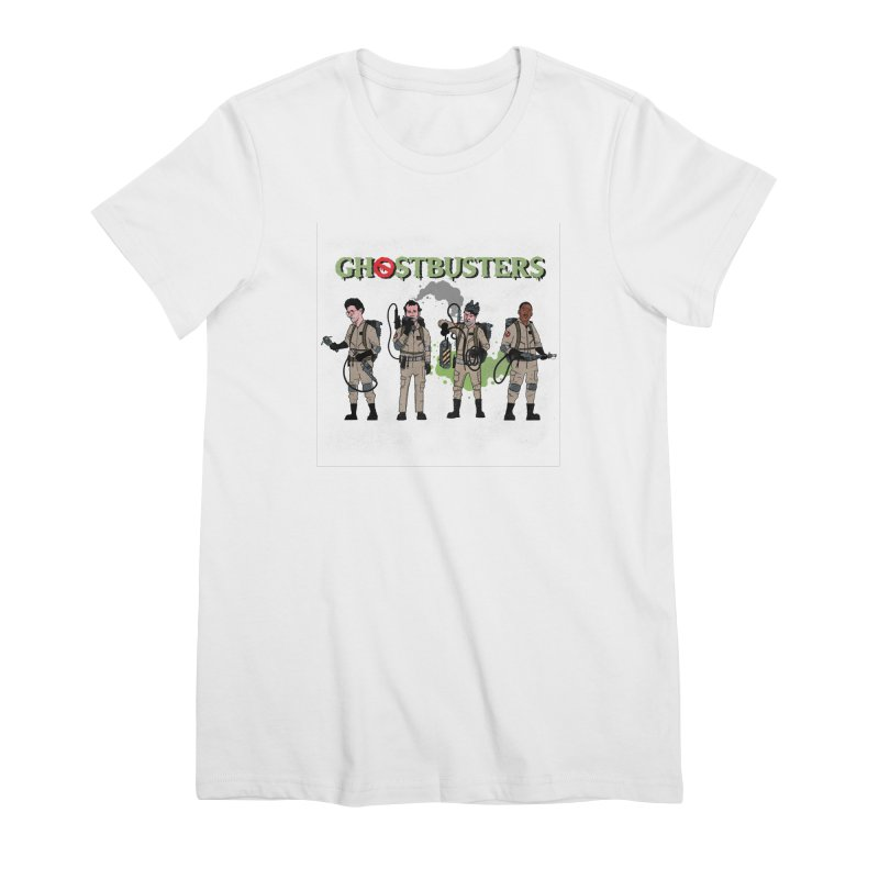 Ghostbusters Women's T-Shirt by Steven Compton's Artist Shop