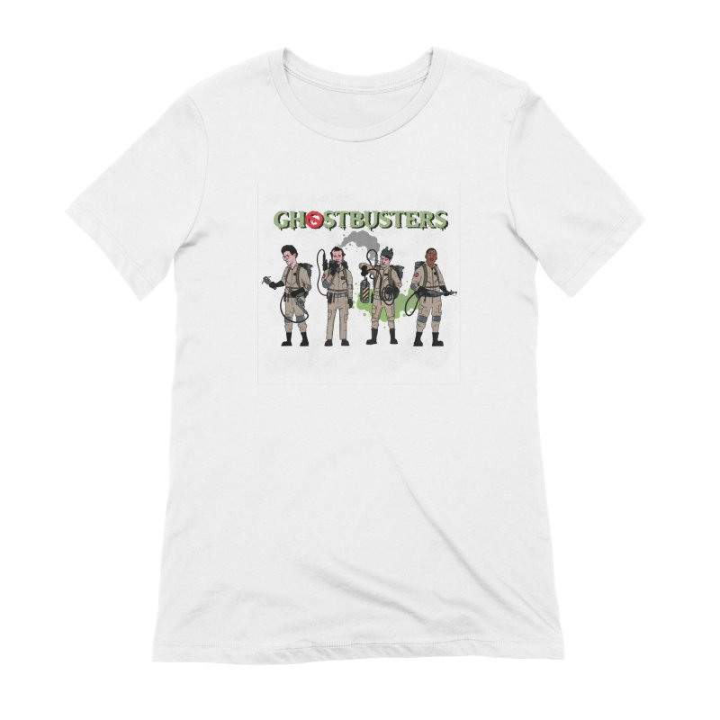 Ghostbusters Women's Extra Soft T-Shirt by Steven Compton's Artist Shop