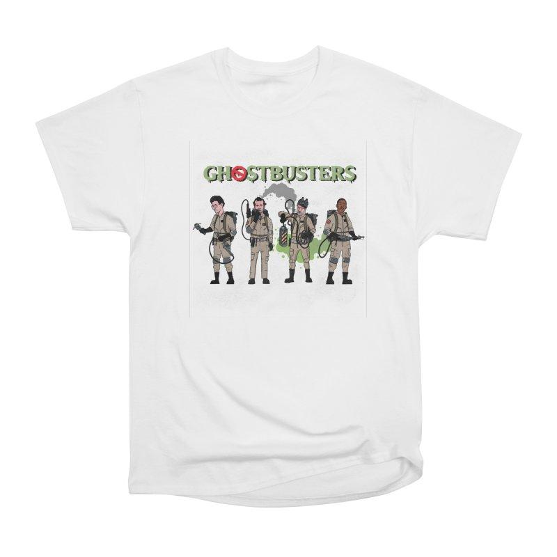 Ghostbusters Women's Heavyweight Unisex T-Shirt by Steven Compton's Artist Shop