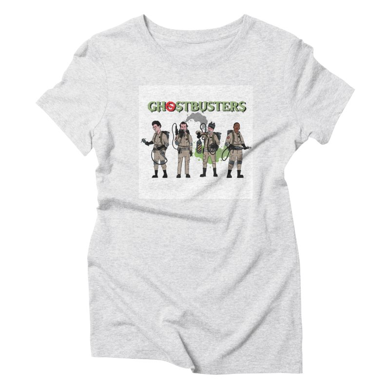 Ghostbusters Women's Triblend T-Shirt by Steven Compton's Artist Shop