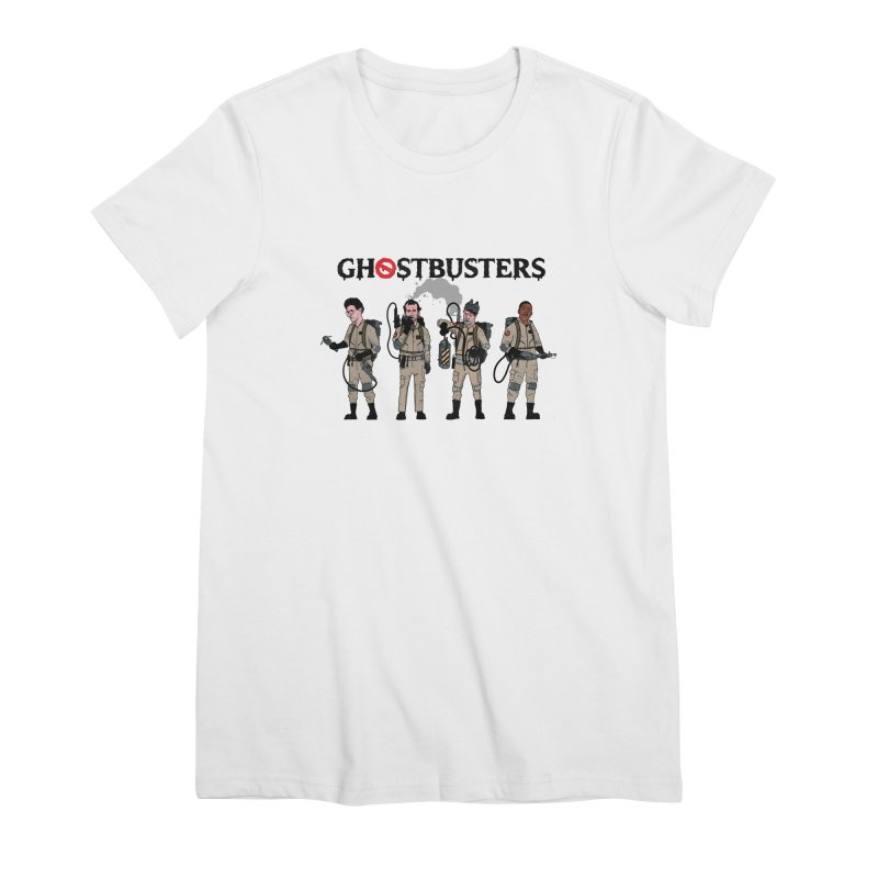 Ghostbusters Women's Premium T-Shirt by Steven Compton's Artist Shop
