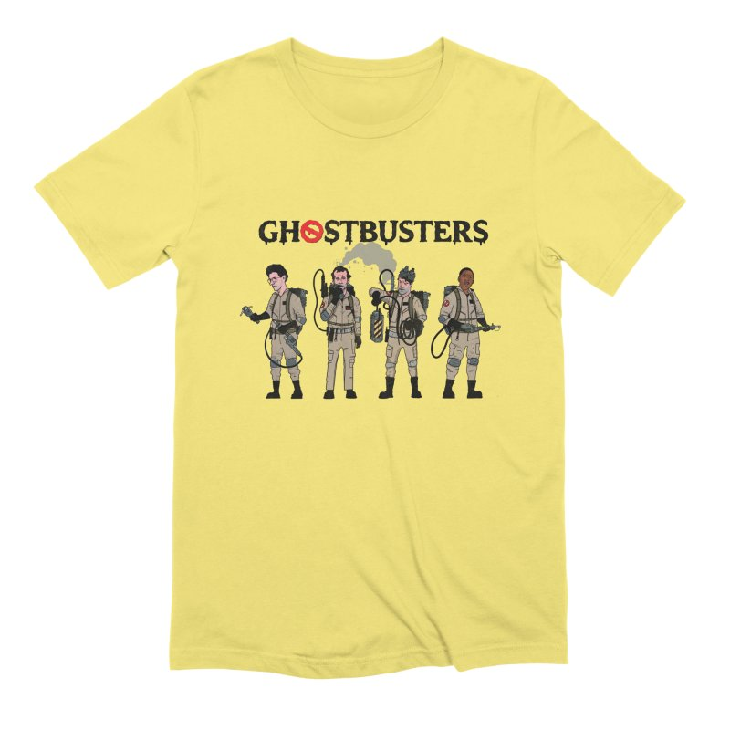 Ghostbusters Men's Extra Soft T-Shirt by Steven Compton's Artist Shop