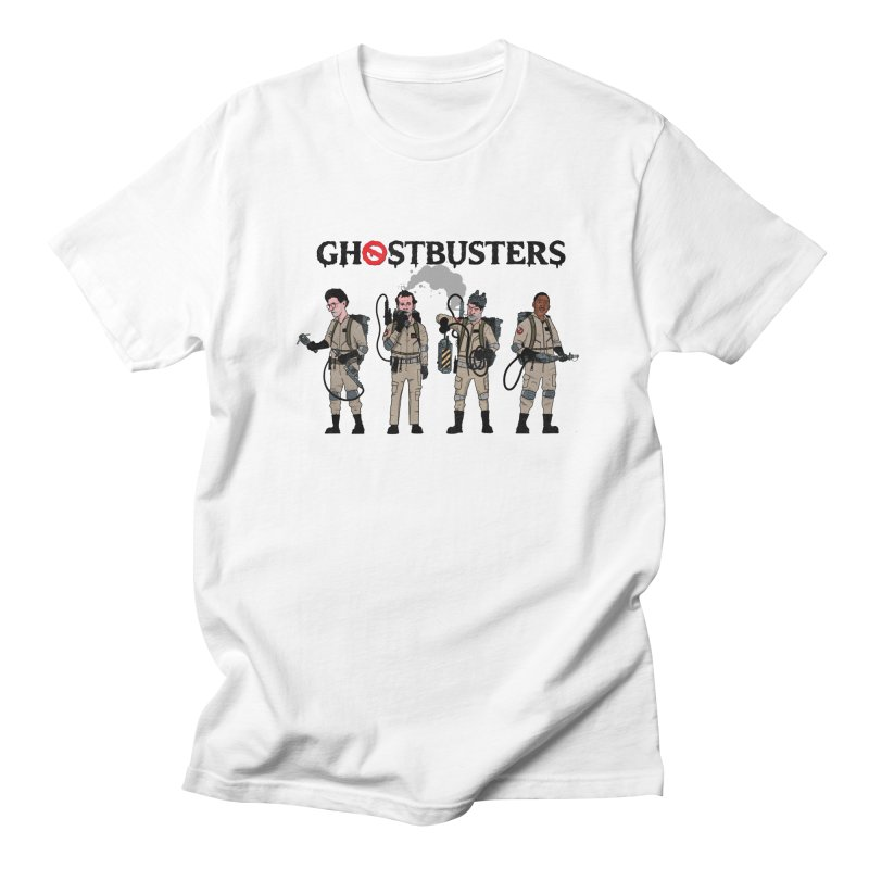 Ghostbusters Men's Regular T-Shirt by Steven Compton's Artist Shop