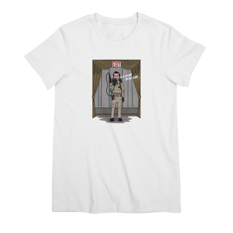 Venkman Women's Premium T-Shirt by Steven Compton's Artist Shop