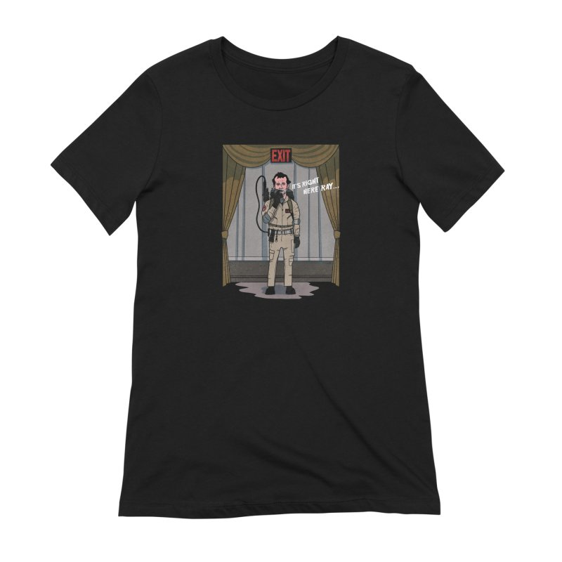 Venkman Women's Extra Soft T-Shirt by Steven Compton's Artist Shop