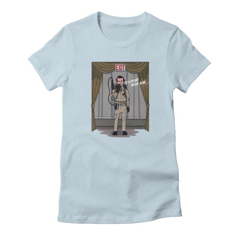 Venkman Women's Fitted T-Shirt by Steven Compton's Artist Shop