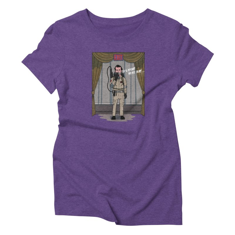 Venkman Women's Triblend T-Shirt by Steven Compton's Artist Shop