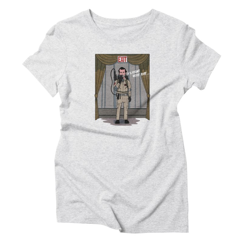 Venkman Women's Triblend T-Shirt by Steven Compton's Artist Shop