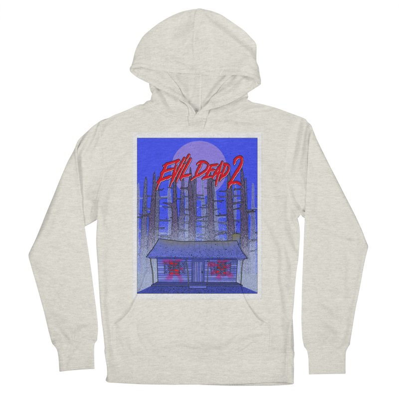 Evil Dead 2  Women's French Terry Pullover Hoody by Steven Compton's Artist Shop