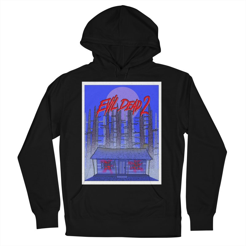Evil Dead 2  Men's French Terry Pullover Hoody by Steven Compton's Artist Shop