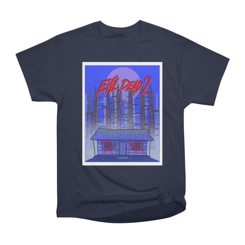 Evil Dead 2  Men's Classic T-Shirt by Steven Compton's Artist Shop