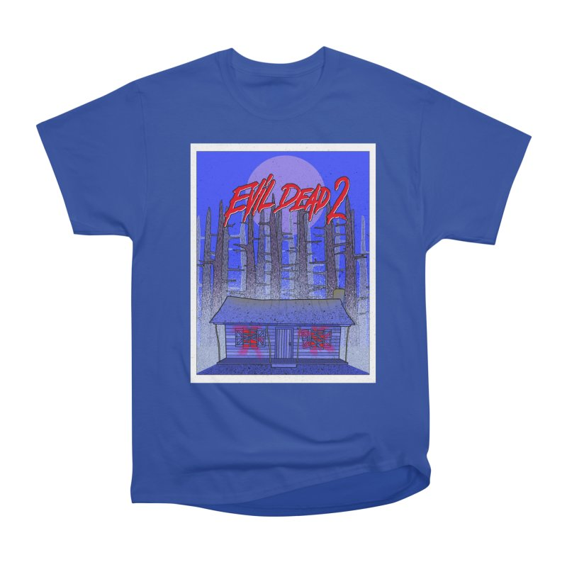 Evil Dead 2  Men's Heavyweight T-Shirt by Steven Compton's Artist Shop