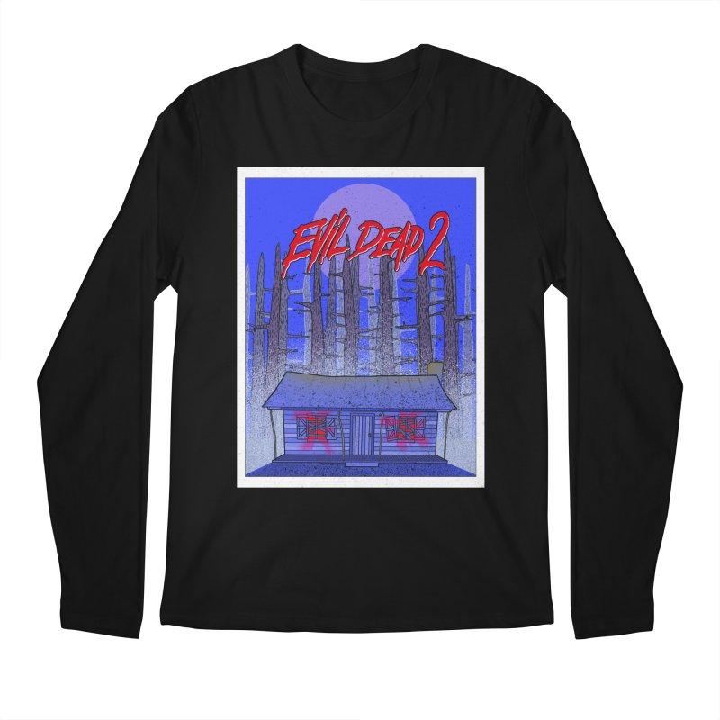 Evil Dead 2  Men's Longsleeve T-Shirt by Steven Compton's Artist Shop