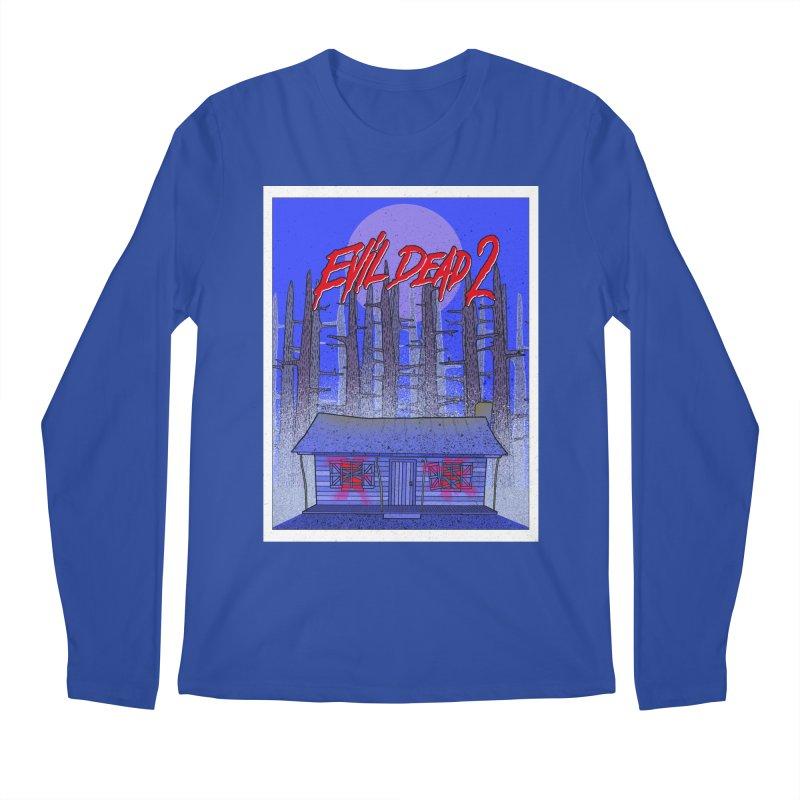 Evil Dead 2  Men's Regular Longsleeve T-Shirt by Steven Compton's Artist Shop