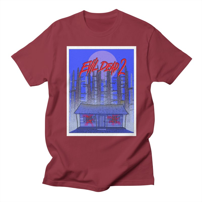Evil Dead 2  Men's Regular T-Shirt by Steven Compton's Artist Shop