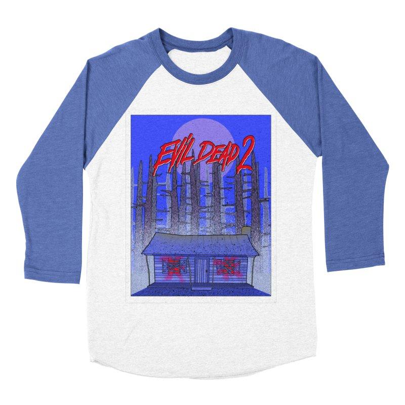 Evil Dead 2  Women's Baseball Triblend T-Shirt by Steven Compton's Artist Shop