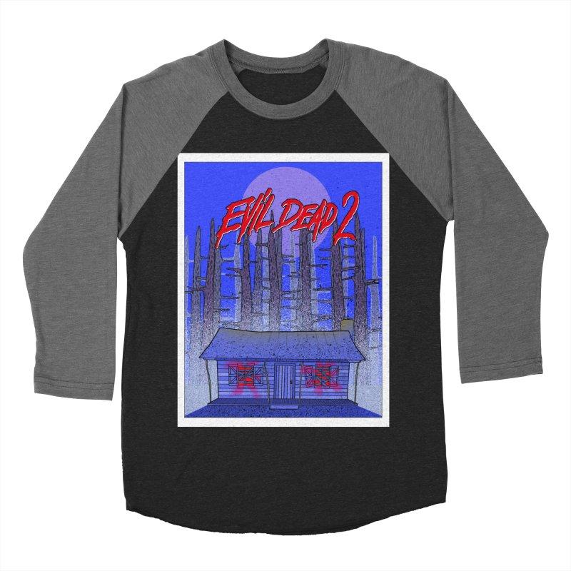 Evil Dead 2  Men's Baseball Triblend T-Shirt by Steven Compton's Artist Shop
