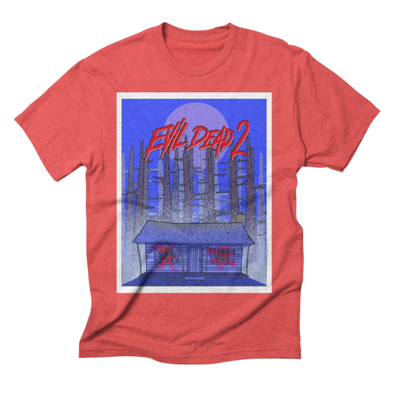 Evil Dead 2  Men's Triblend T-shirt by Steven Compton's Artist Shop