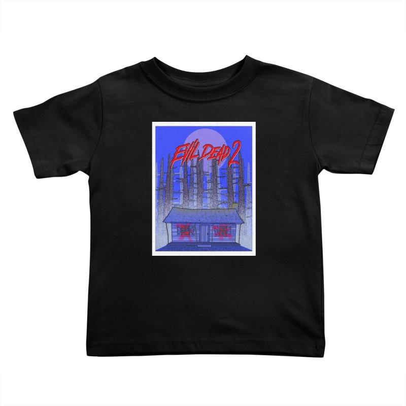Evil Dead 2  Kids Toddler T-Shirt by Steven Compton's Artist Shop