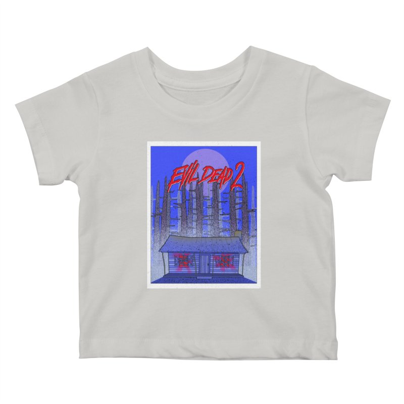 Evil Dead 2  Kids Baby T-Shirt by Steven Compton's Artist Shop