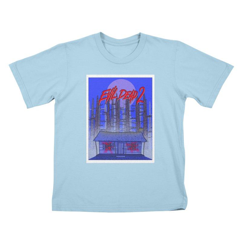 Evil Dead 2  Kids T-shirt by Steven Compton's Artist Shop