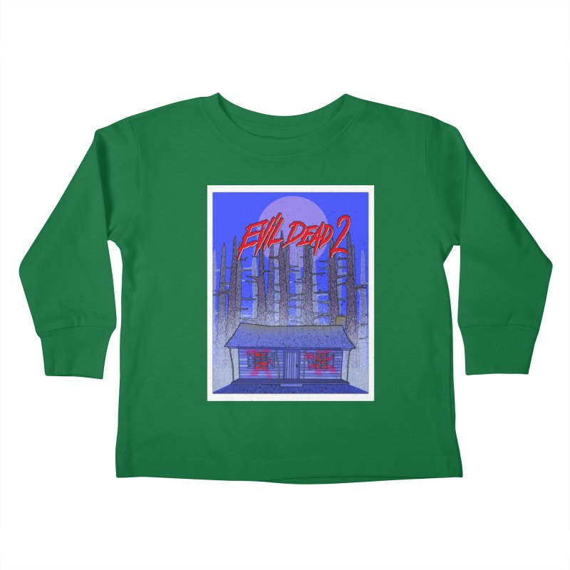 Evil Dead 2  Kids Toddler Longsleeve T-Shirt by Steven Compton's Artist Shop