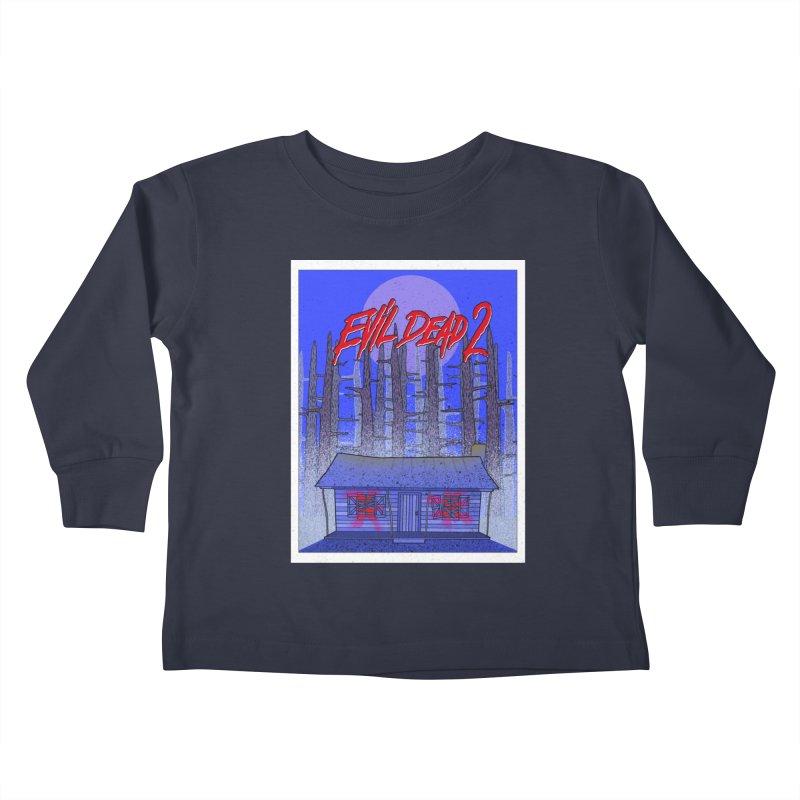 Evil Dead 2  Kids Toddler Longsleeve T-Shirt by Steven Compton's Artist Shop