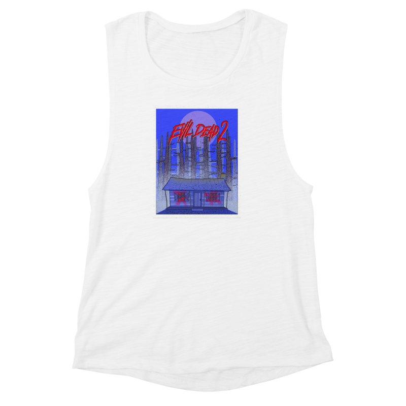 Evil Dead 2  Women's Muscle Tank by Steven Compton's Artist Shop