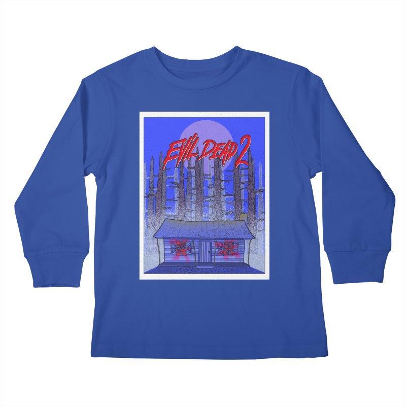 Evil Dead 2  Kids Longsleeve T-Shirt by Steven Compton's Artist Shop