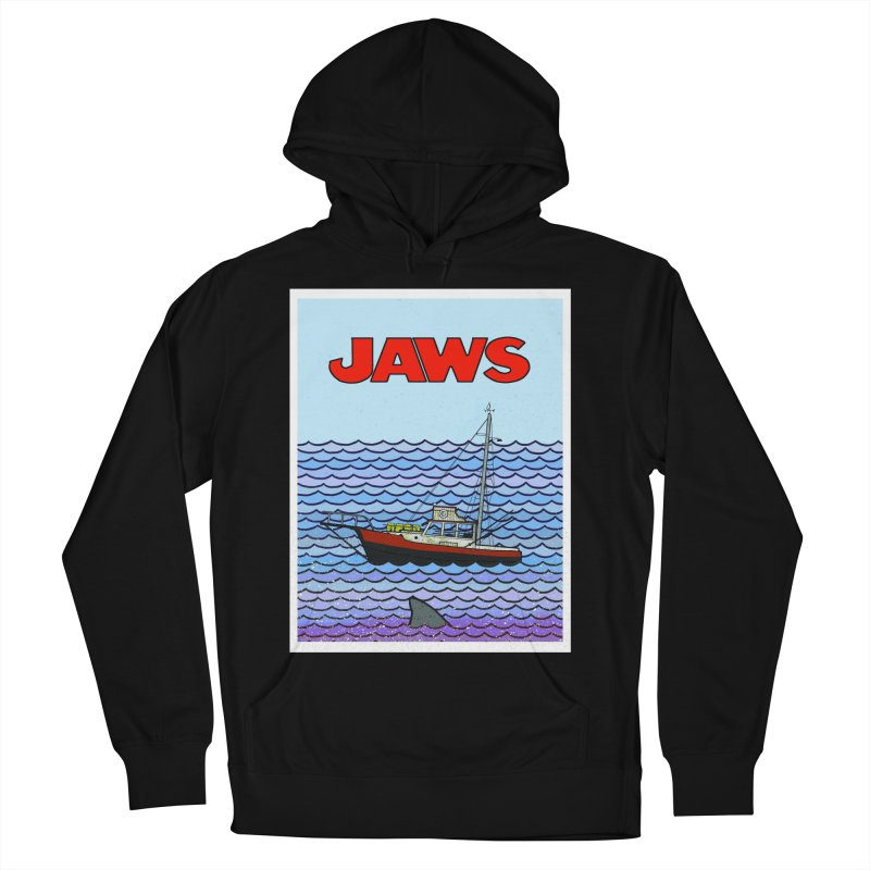 Jaws Women's Pullover Hoody by Steven Compton's Artist Shop