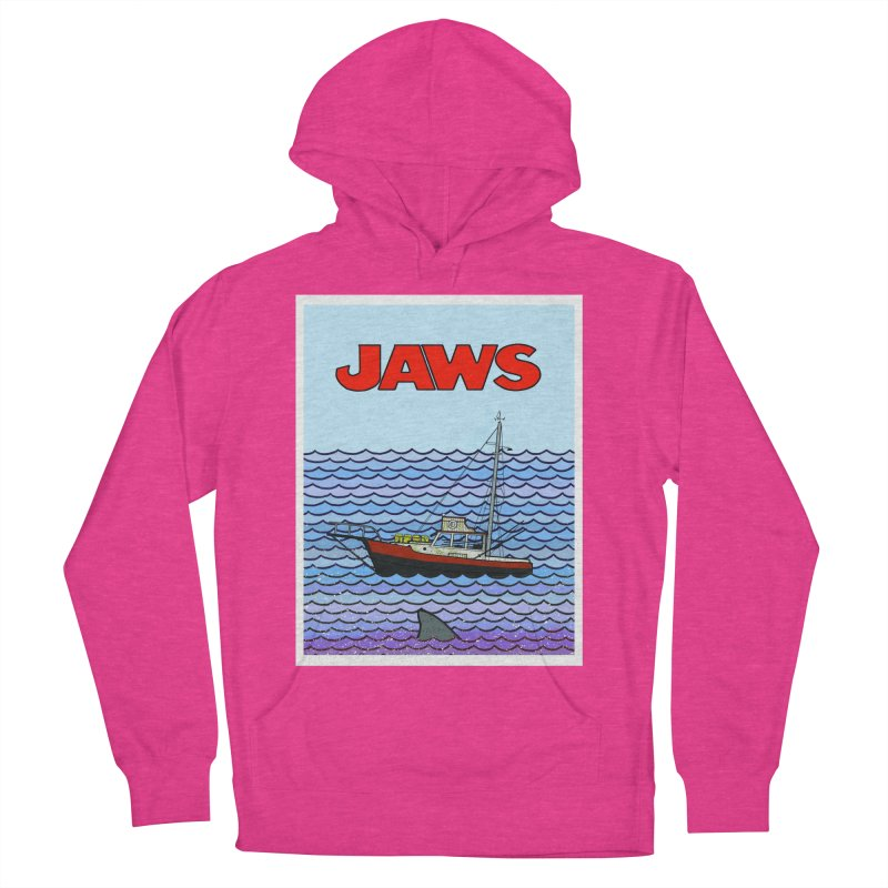 Jaws Men's Pullover Hoody by Steven Compton's Artist Shop