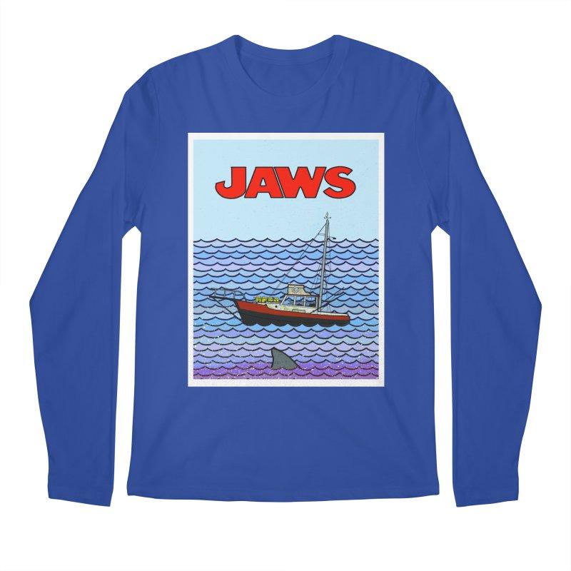 Jaws Men's Longsleeve T-Shirt by Steven Compton's Artist Shop