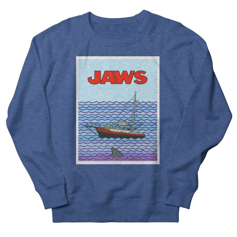 Jaws Women's Sweatshirt by Steven Compton's Artist Shop