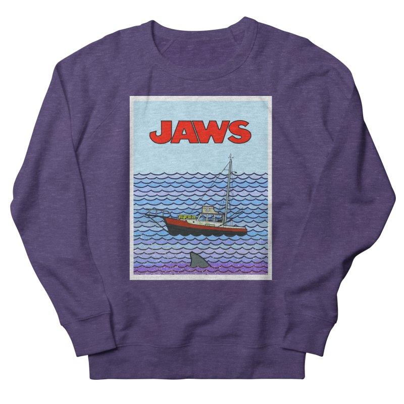 Jaws Men's Sweatshirt by Steven Compton's Artist Shop