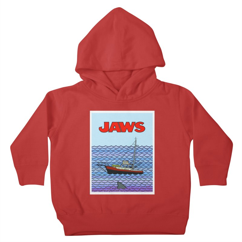 Jaws Kids Toddler Pullover Hoody by Steven Compton's Artist Shop