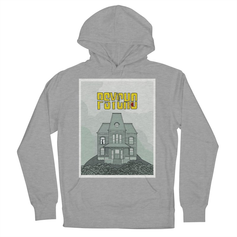Psycho Women's French Terry Pullover Hoody by Steven Compton's Artist Shop