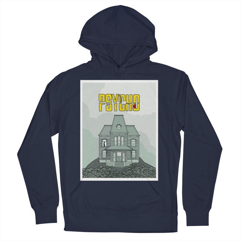 Psycho Men's Pullover Hoody by Steven Compton's Artist Shop