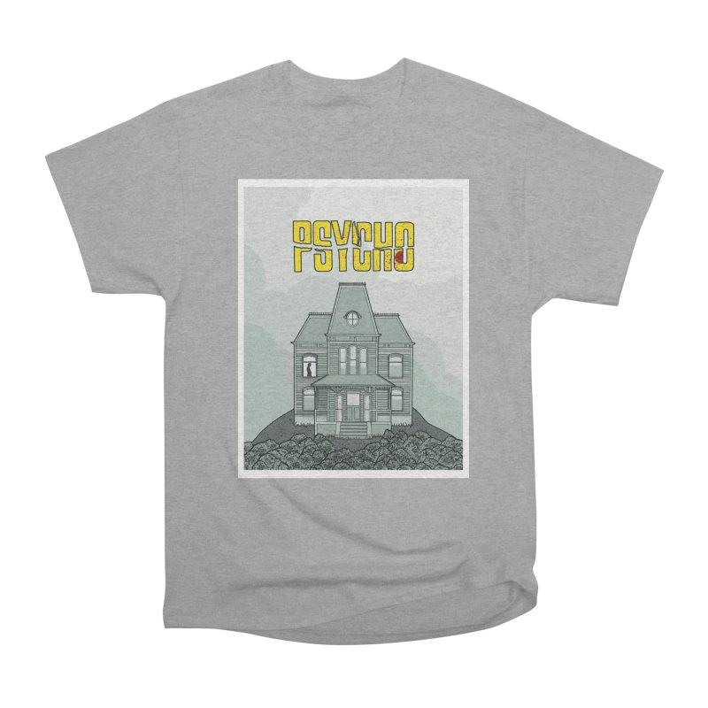 Psycho Men's Heavyweight T-Shirt by Steven Compton's Artist Shop