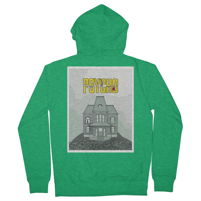 Psycho Women's Zip-Up Hoody by Steven Compton's Artist Shop