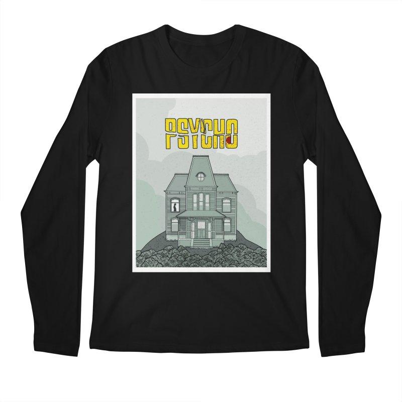 Psycho Men's Regular Longsleeve T-Shirt by Steven Compton's Artist Shop