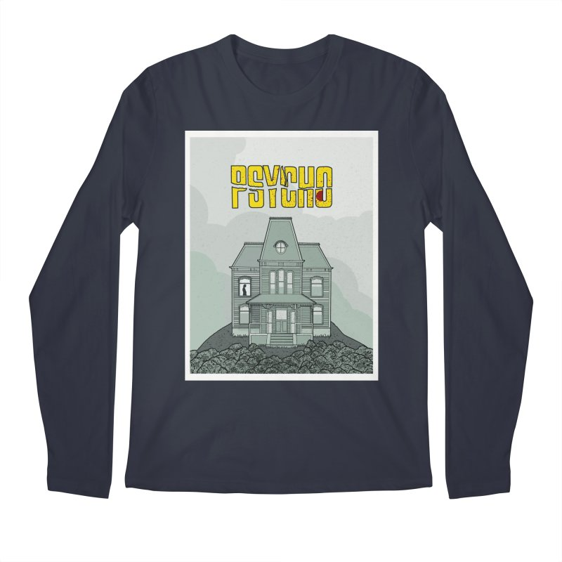 Psycho Men's Longsleeve T-Shirt by Steven Compton's Artist Shop