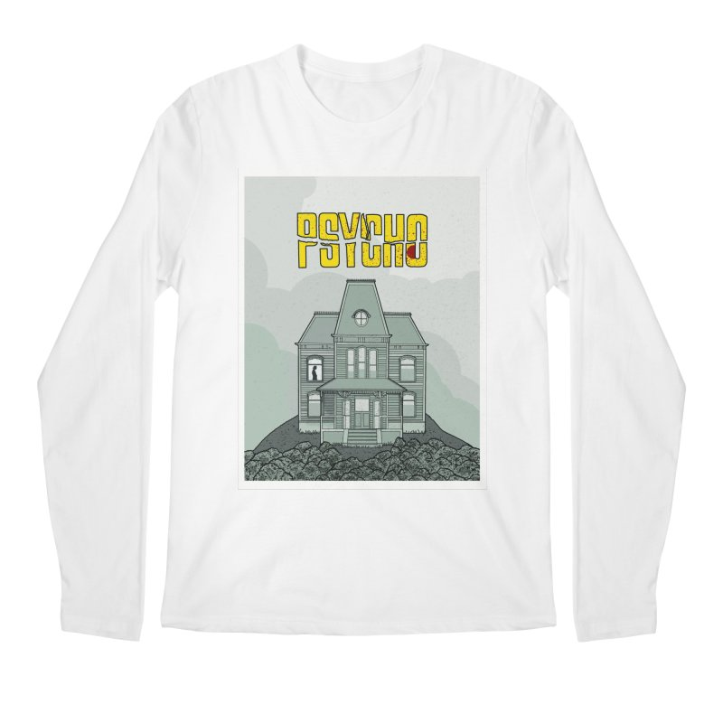 Psycho Men's Regular Longsleeve T-Shirt by Steven Compton's Artist Shop