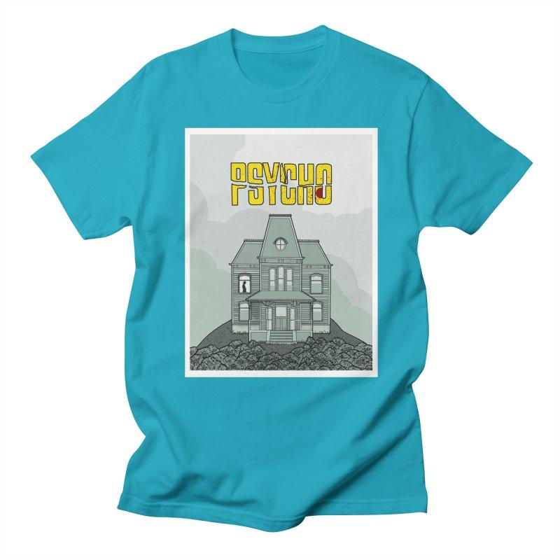 Psycho Men's Regular T-Shirt by Steven Compton's Artist Shop